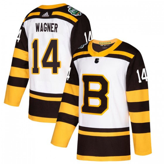 Authentic Adidas Youth Chris Wagner Boston Bruins 2019 Winter Classic Jersey - White
